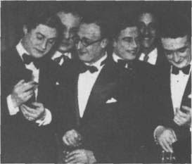 Edgardo Donato, con Agustin Magaldi y Pedro Noda