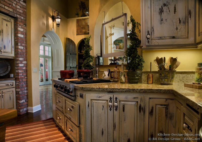 kitchen cabinets traditional two tone 014 s2120673 distressed antique white archways luxury