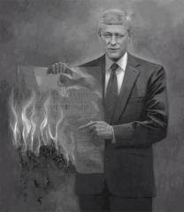 harper shreds constitution
