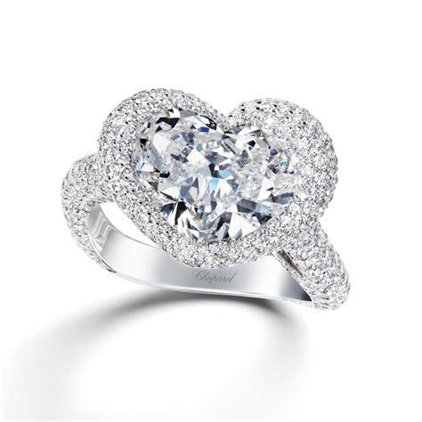 Diamond twist solitaire engagement ring   Chopard   The