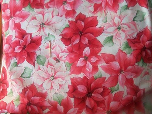 Poinsettia Fabric