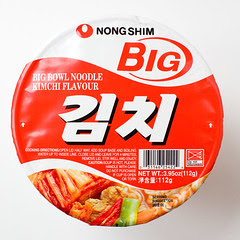 Nong Shim Big bowl Kimchi instant