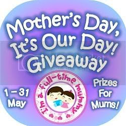 Mother's Day, It's Our Day Giveaway