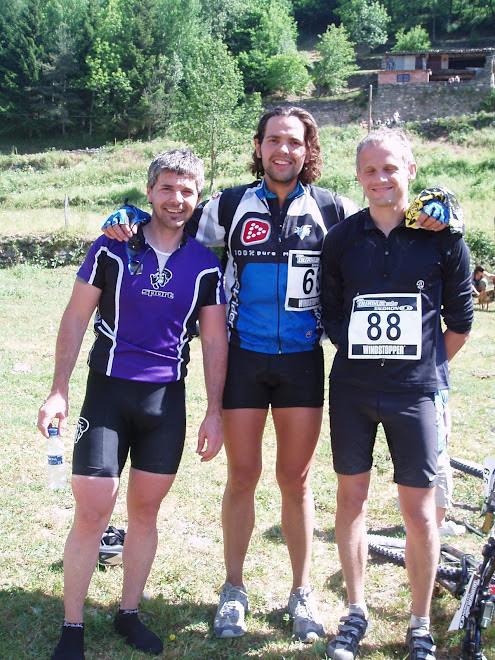 Amb els meus dos amics,Carlos y Dani