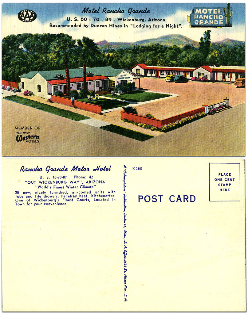 Rancho Grande Motor Hotel_Wickenburg Arizona_tatteredandlost