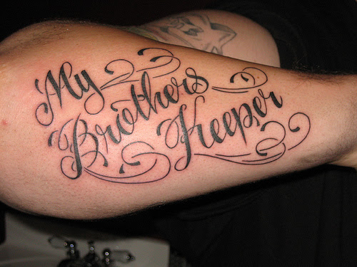 My Brothers Keeper Photo By Sacred Heart Tattoo Lincoln Ne From