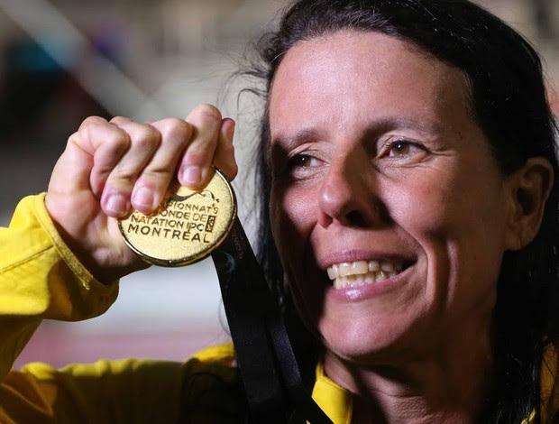 Susana Schnarndof mundial paralímpico de natação (Foto: Marcelo Régua/CPB)