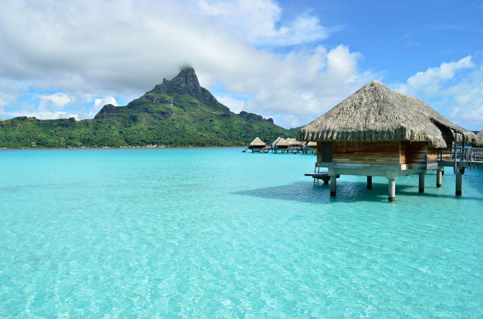 The Worlds Best OverWater Bungalows  Seriously Travel