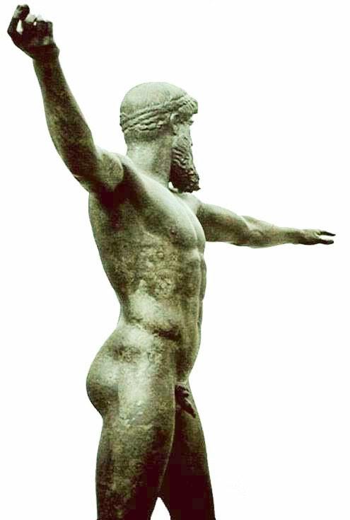 Zeus (oder Poseidon) von Kalamis