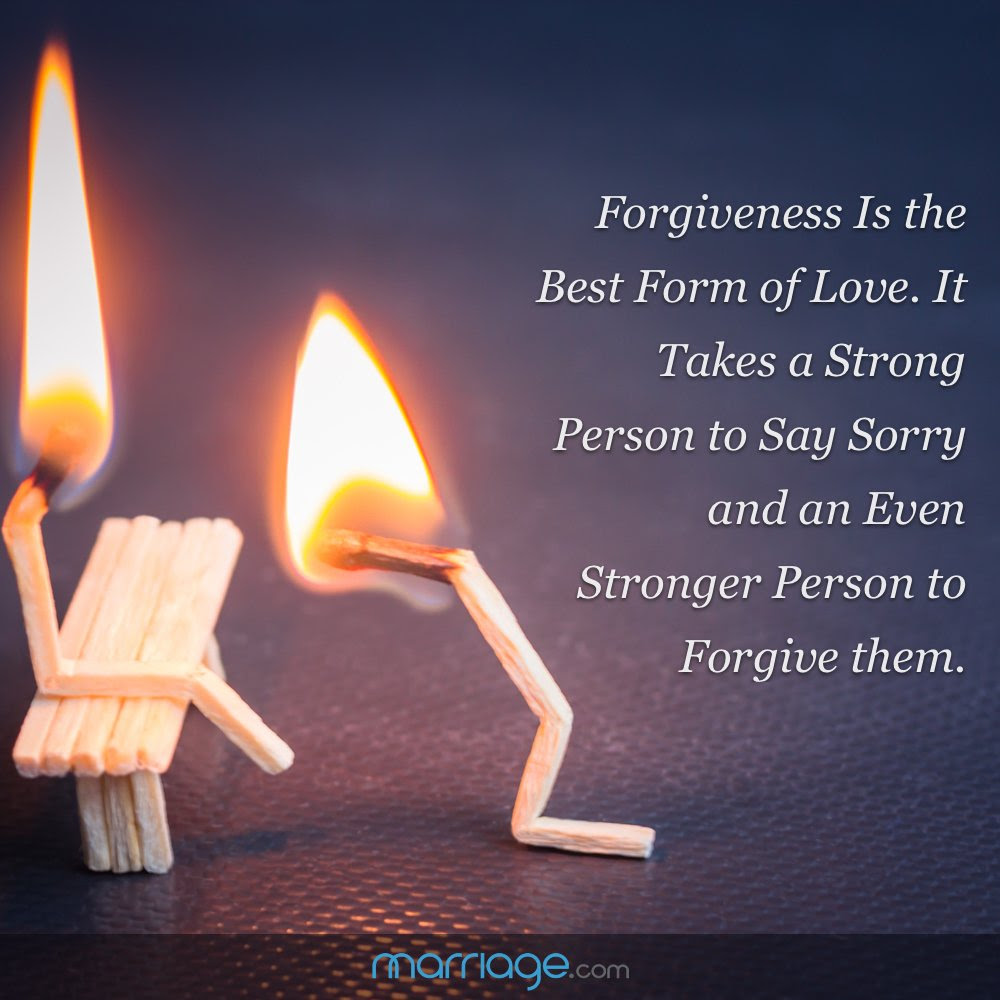 Forgiveness Is The Best Form Of Love It Takes Strong Person To Say