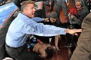 Dans sa chute, BernardHopkins s'est blessé à la... (Photo Jayne Kamin-Oncea, USA Today) - image 1.0