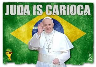juda is carioca bergoglio mondiali brasile