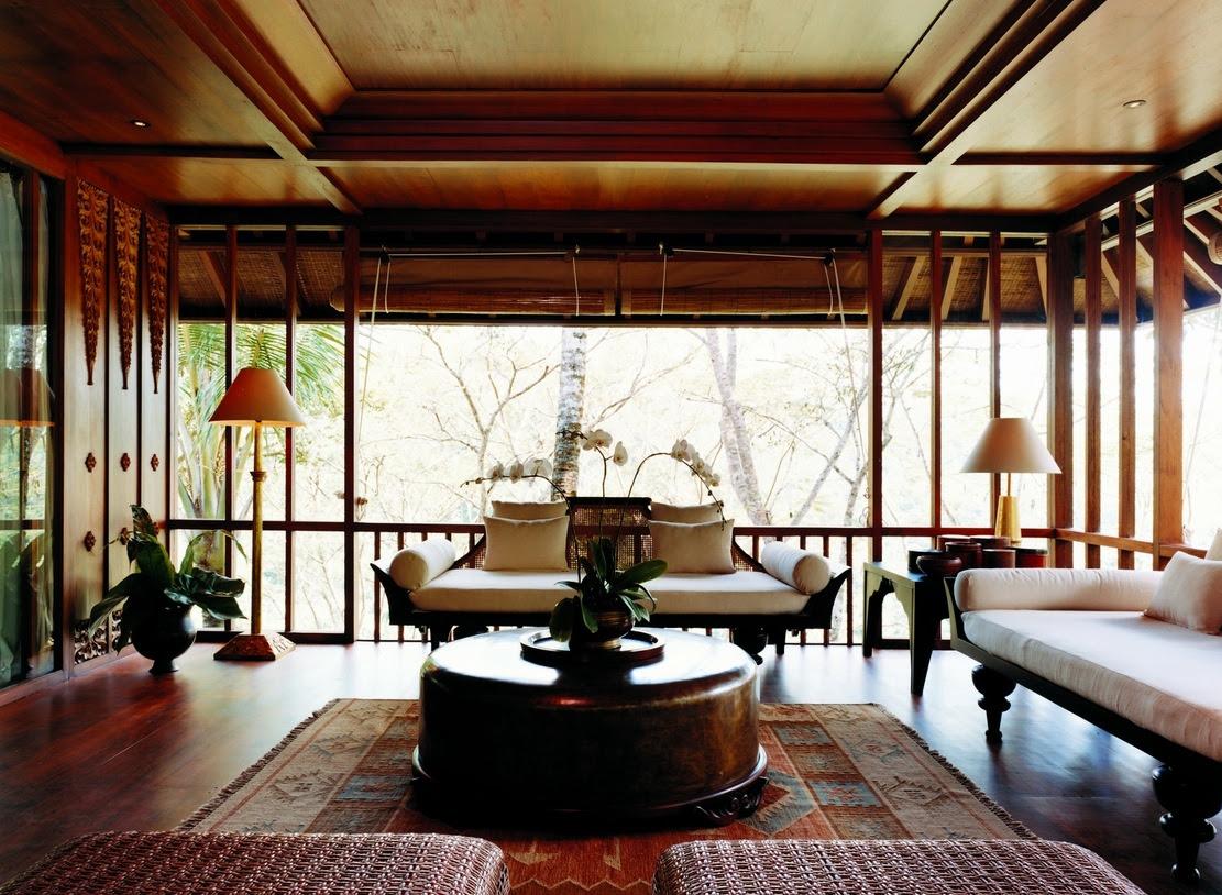 Como Shambhala Estate Bali- oriental and wood aesthetic guest