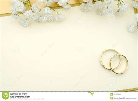 Wedding invitation stock photo. Image of ring, invitation