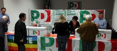 Elettori alle ultime primarie Pd per l'elezione del segretario