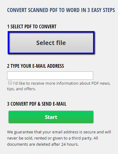 Edit Scanned Documents In Three Steps