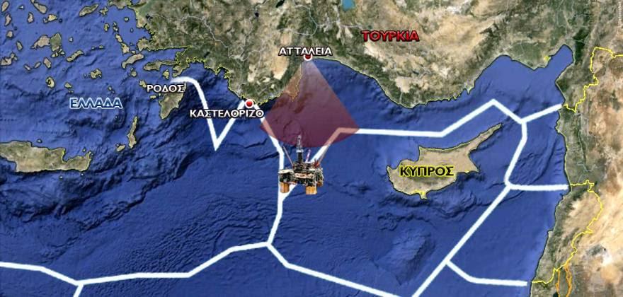 Ένοχη σιωπή Ε.Βενιζέλου στο τουρκικό 'casus belli' με την εξέδρα άντλησης πετρελαίου ΝΑ της Μεγίστης