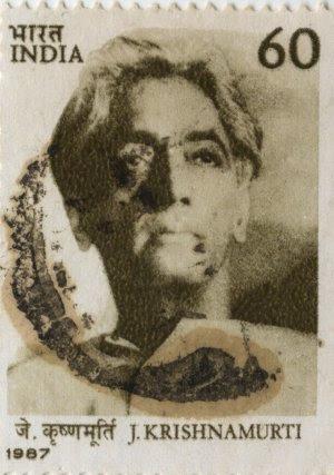 Philosopher J. Krishnamurti