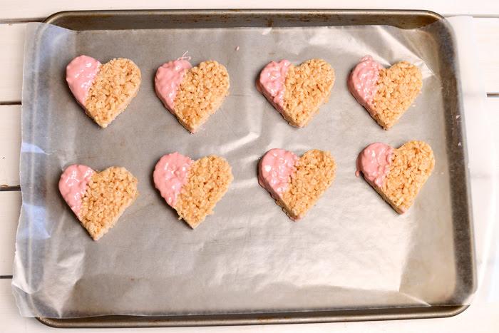 DIY Wedding Favors: Rice Krispie Treat Hearts