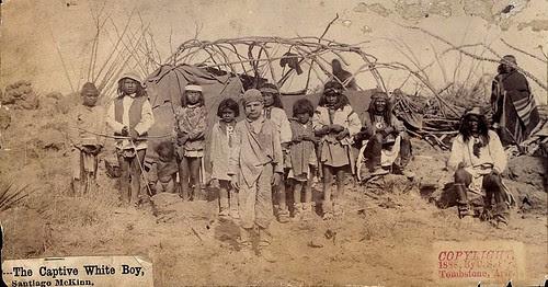 Santiago McKinn, The Captive White Boy, 1886