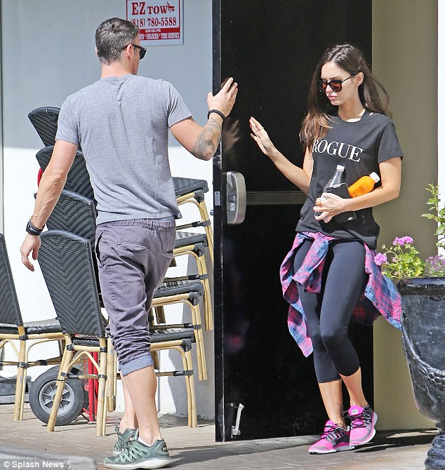 The ex factor:Megan Fox and Brian Austin Green headed out without their boys to grab lunch for twoat Sweet Butter Cafe in Studio City, California
