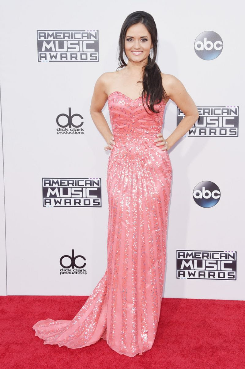 DANICA MCKELLAR at 2015 American Music Awards in Los Angeles 11/22/2015