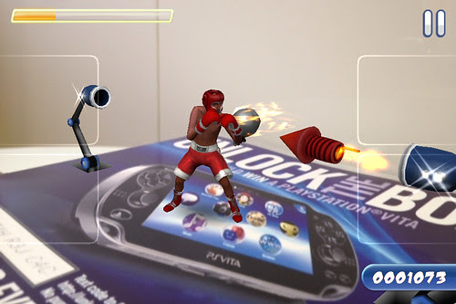 PS Vita and Taco Bell: Reality Fighters Dojo