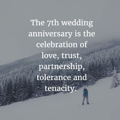7 Year Anniversary Quotes for the Couples Who Made It