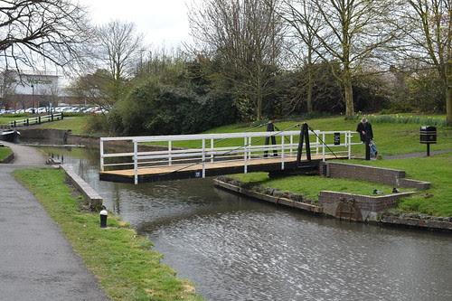 Saltway Footbridge 17, Droitwich Barge Canal, Droitwich Spa