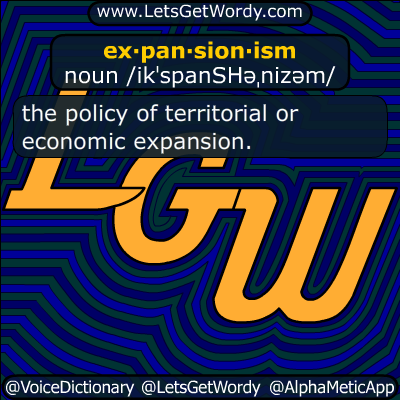 expansionism 01/17/2017 GFX Definition