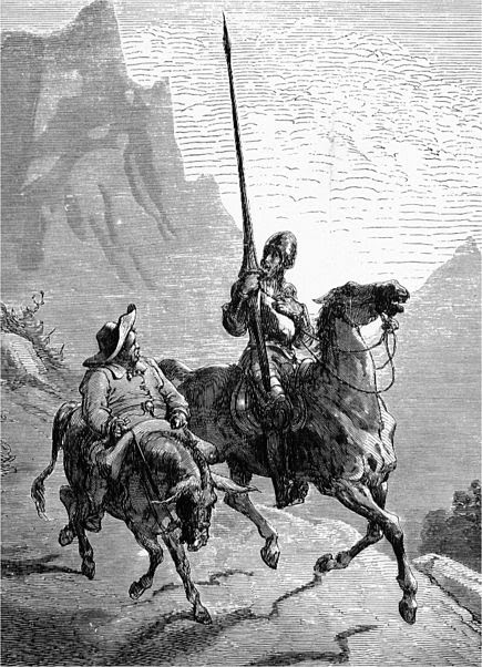 Ficheiro:Don Quijote and Sancho Panza.jpg