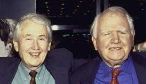 Frank and Machaly McCourt