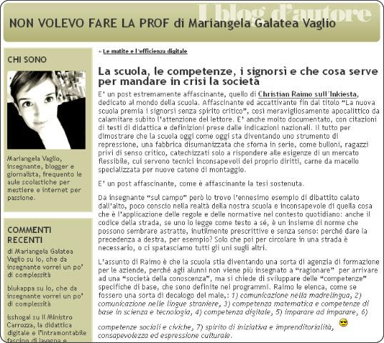 http://nonvolevofarelaprof.blogautore.espresso.repubblica.it/2013/08/19/la-scuola-le-competenze-i-signorsi-e-che-cosa-serve-per-mandare-in-crisi-la-societa/