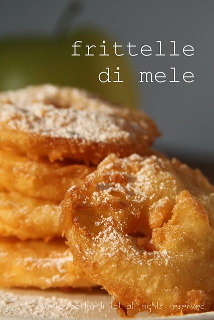 Frittelle di mele alla Toscana