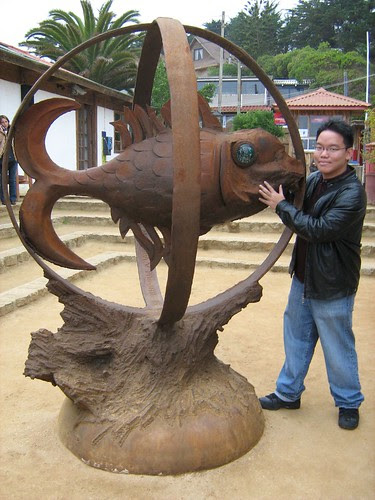 Fish Sculpture of Isla Negra 2