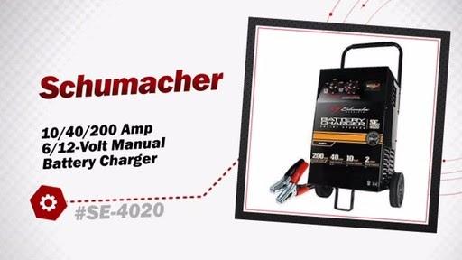 18 Fresh Schumacher Battery Charger Se