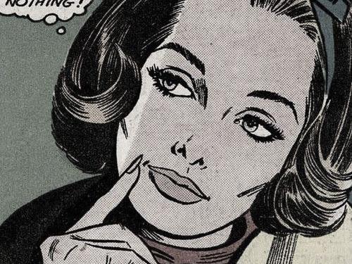 Pop Art Comic Book Girls