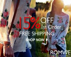shop romwe online, free shipping