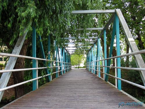 Jardim do Polis Leiria (Este) - Ponte Este (2) [en] Polis Garden of Leiria, Portugal