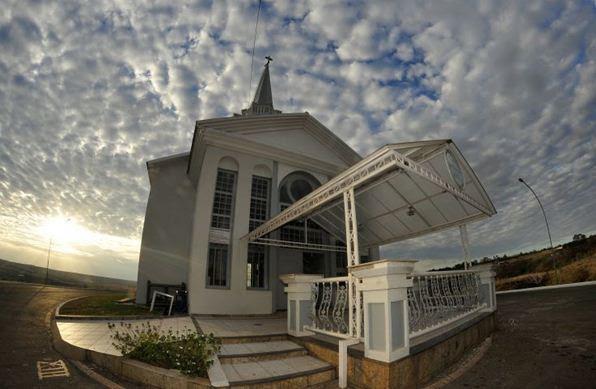 Igreja católica: Capela São Francisco de Assis, no Núcleo Rural Casa Grande - Ed Alves/CB/D.A Press