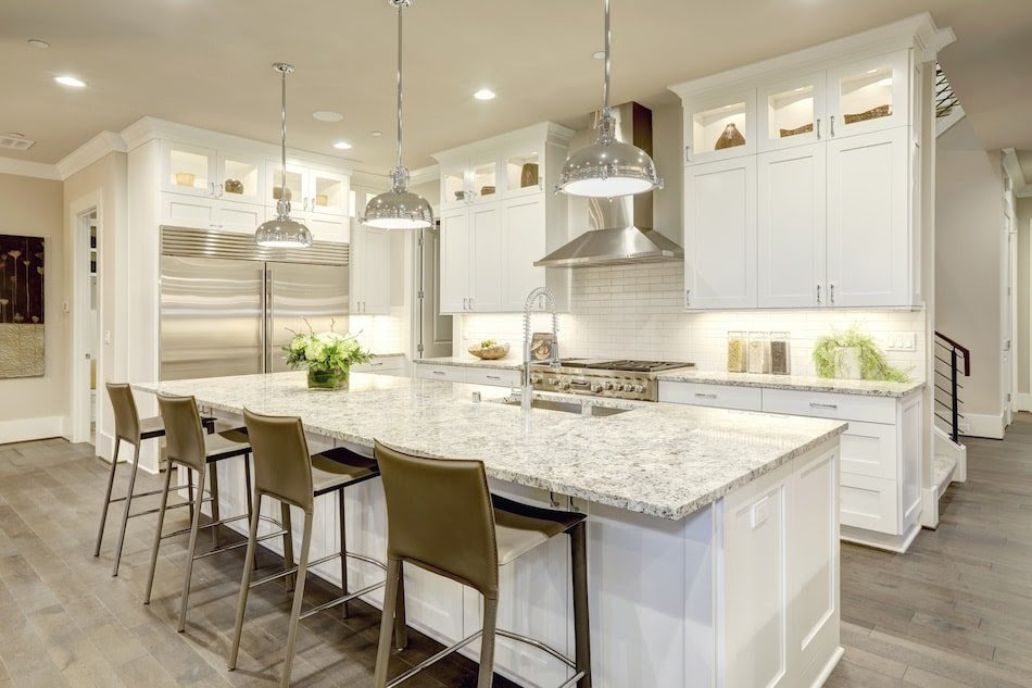 Kitchen Open Plan Living Combined Small Apartment Kitchen Fauhan