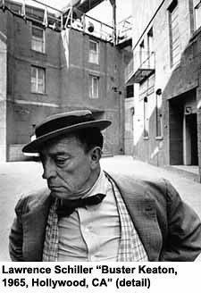 Lawrence Schiller 'Buster Keaton, 1965, Hollywood, CA' (detail) by artimageslibrary