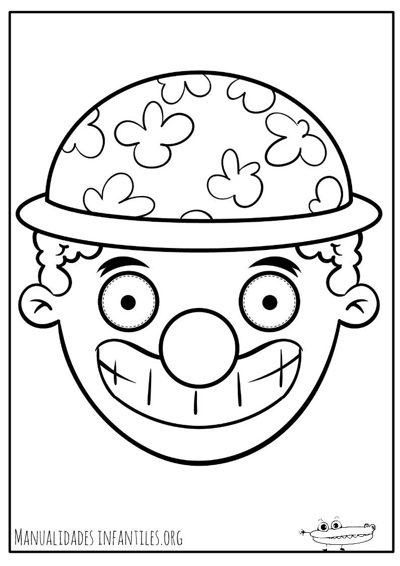 Dibujos De Máscaras Para Colorear Actividades Para Niños