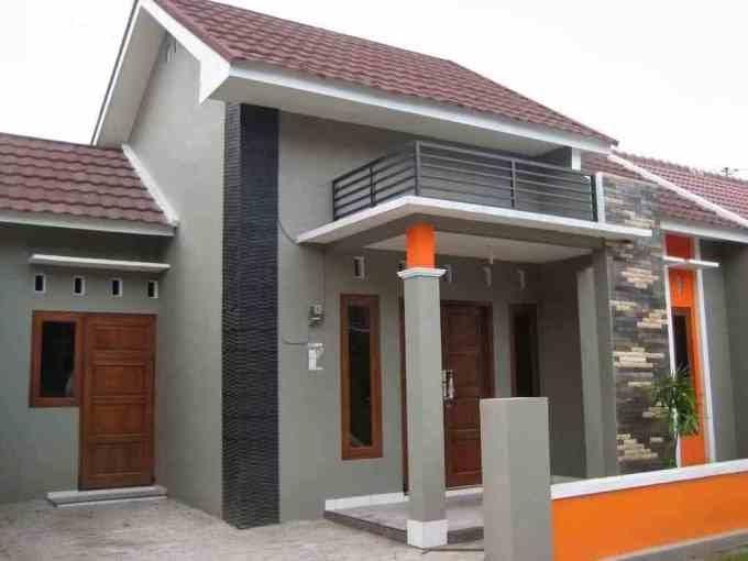 Cat Dinding Luar Warna Cat Rumah Bagian Luar Yang Elegan ...