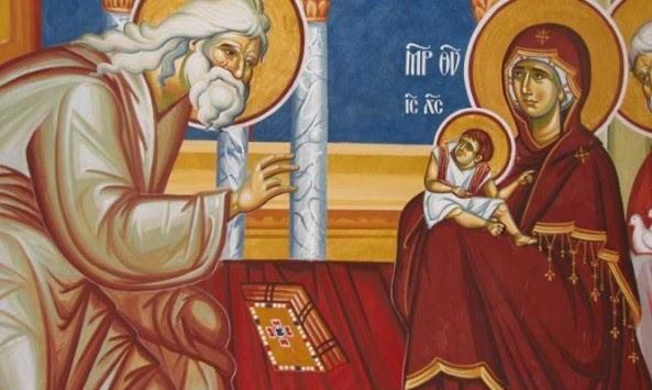 Σήμερα, 2 Φεβρουαρίου: Εορτή της Υπαπαντής του Κυρίου
