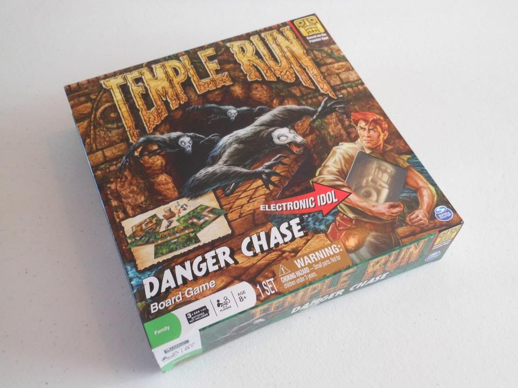 Temple Run Danger Chase game