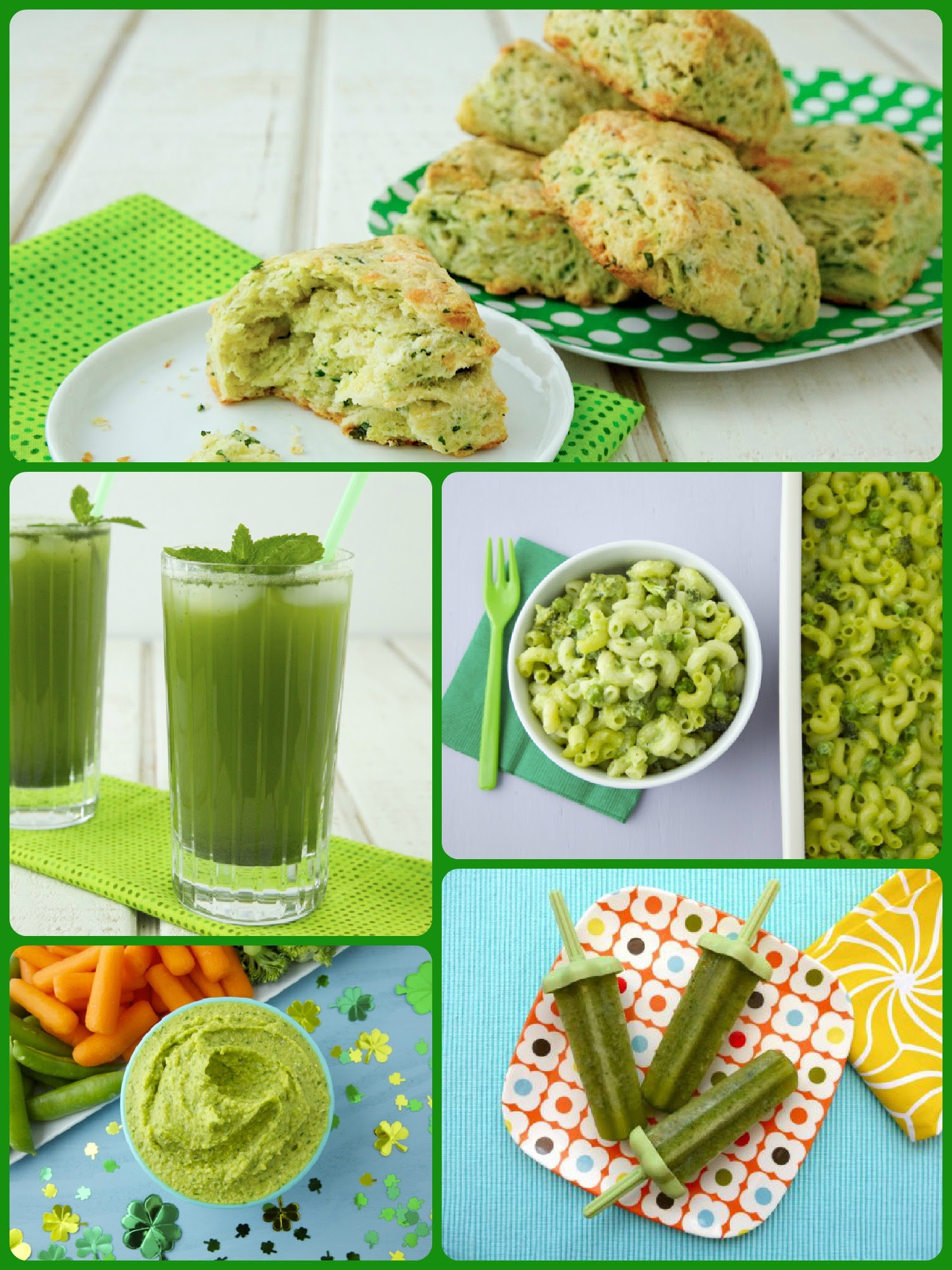 http://weelicious.com/wp-content/uploads/2013/03/Green-Recipes-Collage.jpg