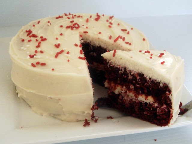 red velvet cupcakes with stevia in the raw