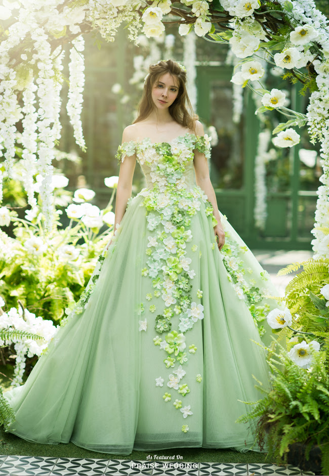 romantic princessworthy gown from sophie design featuring