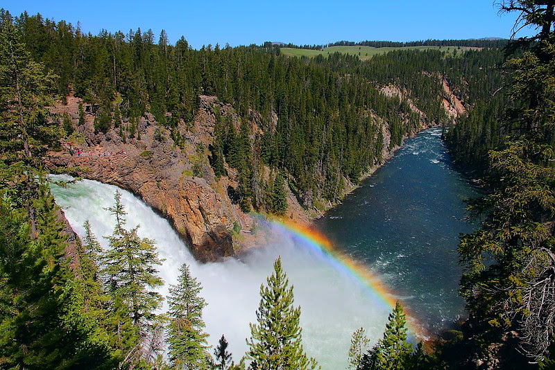 IMG_3997 Upper Falls, Yellowstone National Park